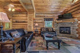 american heritage 4 bedroom pet friendly cabin in Gatlinburg by Jackson Mountain Homes
