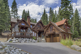 backside 180  4 bedroom pet friendly cabin south lake tahoe by Tahoe Luxury Properties