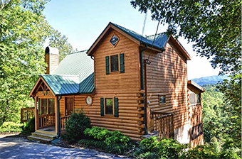 big elk lodge 6 bedroom pet friendly cabin Sevierville by Great Outdoor Rentals