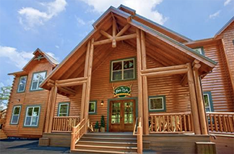 Big Elk lodge 16  bedroom pet friendly cabin in Gatlinburg by Alpine Chalet Rentals