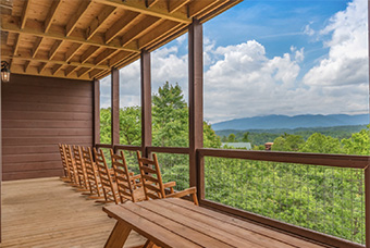 Big Vista Lodge 16  bedroom pet friendly cabin in Gatlinburg by Hearthside Cabin Rentals
