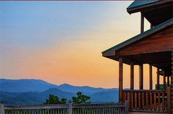 bluebirds over the smokies 5 bedroom pet friendly cabin in Gatlinburg by Amazing Views Cabin Rentals