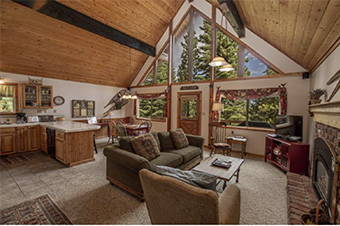 erving 4 bedroom pet friendly cabin south lake tahoe by Hauserman Rental Group
