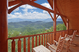 Heavenly Heights Retreat 8 bedroom pet friendly cabin Sevierville by Hearthside Cabin Rentals