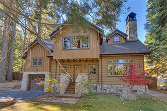 Holly Hideaway 5 bedroom pet friendly cabin south lake tahoe by Tahoe Luxury Properties