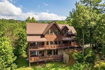 morning breeze 5 bedroom pet friendly cabin in Gatlinburg by Stony Brook Lodging
