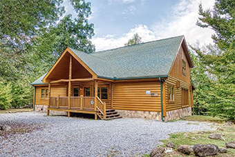 new beginnings 5 bedroom pet friendly cabin in Gatlinburg by Aunt Bugs Cabin Rentals