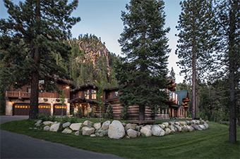 painted rock lodge 4 bedroom pet friendly cabin south lake tahoe by Tahoe Luxury Properties