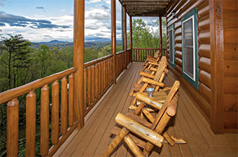 smoky mountain memories 4 bedroom pet friendly cabin in Gatlinburg by Amazing Views Cabin Rentals