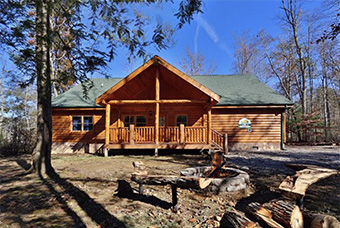 splash n play 5 bedroom pet friendly cabin in Gatlinburg by Aunt Bugs Cabin Rentals