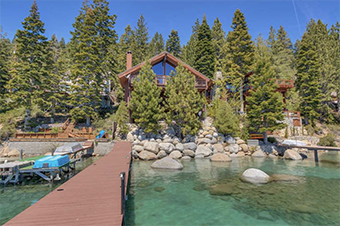 summer breeze  4 bedroom pet friendly cabin south lake tahoe by Tahoe Luxury Properties