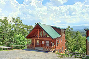 sewet emotions 4 bedroom pet friendly cabin Sevierville by Cabins of the Smoky Mountains